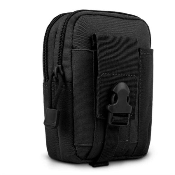 Porta Acessórios D30- Waist Bag- Molle (Preto)
