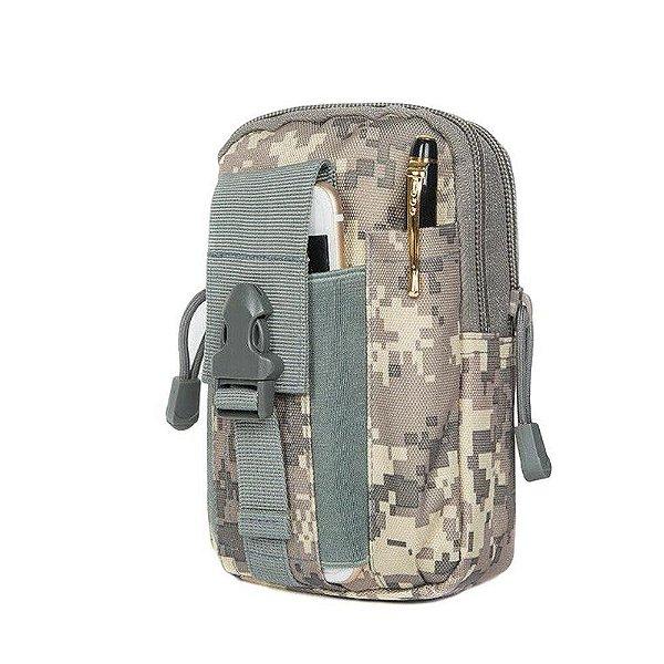 Porta Acessórios D30- Waist Bag- Molle (ACU)