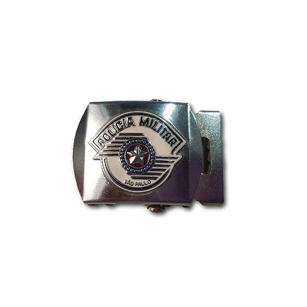 Fivela Metal da Polícia Militar - PM (Símbolo)