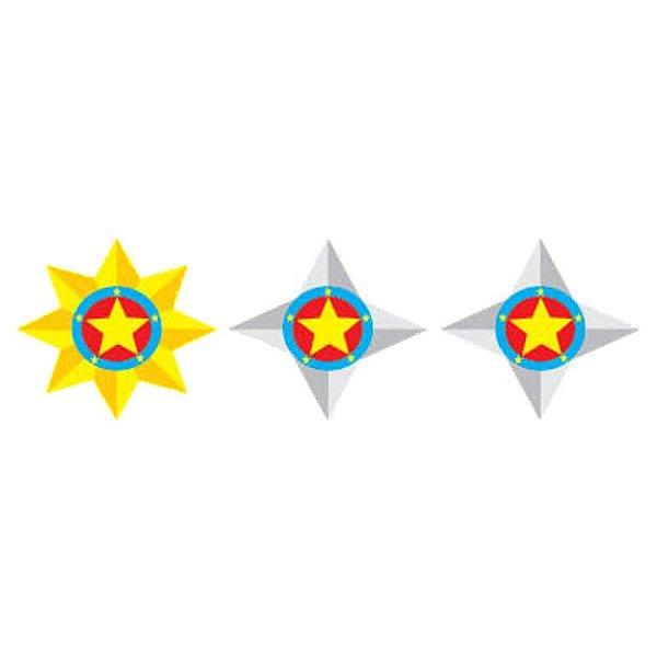 Divisa de Gola Metal PM Major (Unidade)