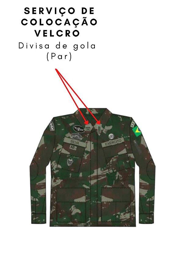 Velcro de Gola - Par (Costura)