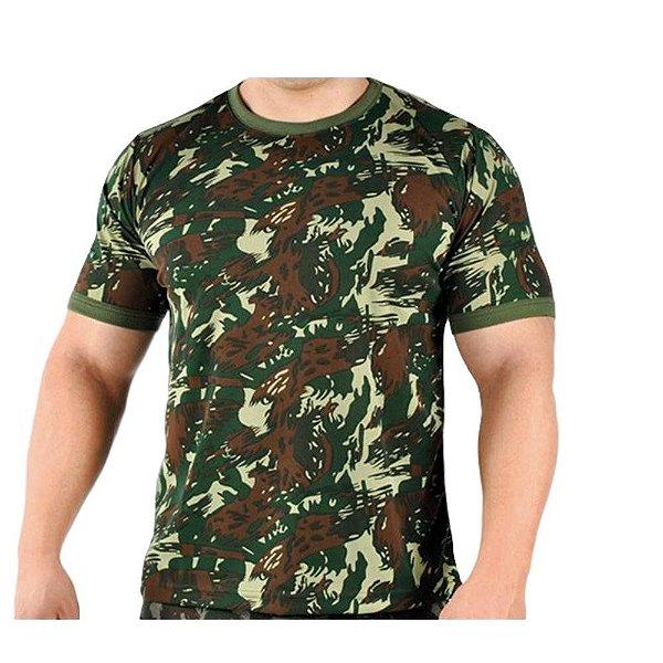 Camiseta Malwee Camuflada Padrão EB