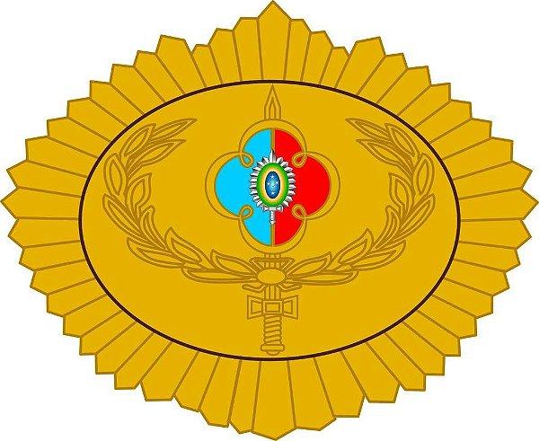 Brevê (Distintivo) de Metal Adjunto de Comando