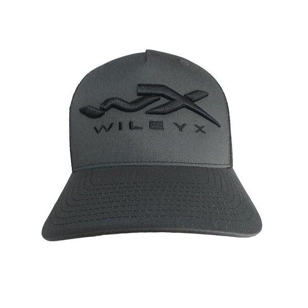 Boné Wiley X Cinza/ Preto (Regulagem)