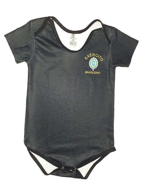 Body Bebê Símbolo Exército Brasileiro