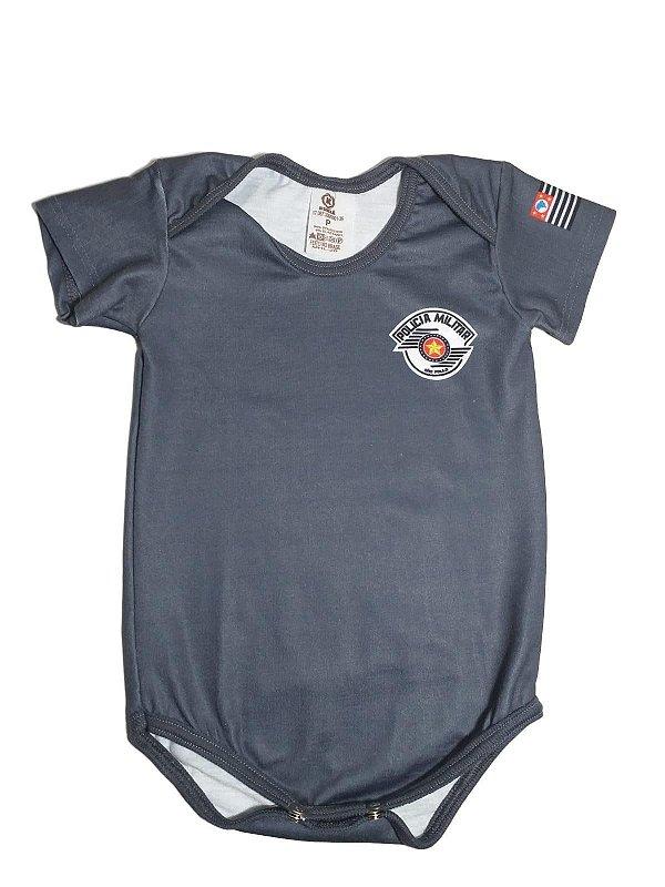 Body Bebê Policia Militar (PMSP)