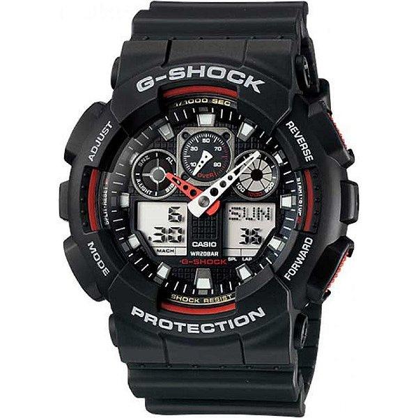 Relógio Cásio G-SHOCK GA-100-1A4DR