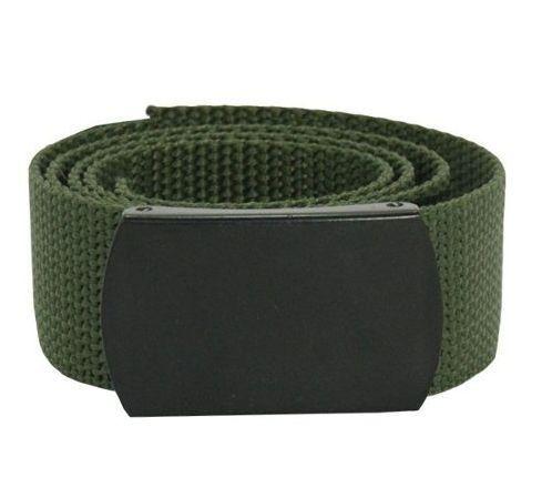 Cinto Verde de Nylon C/Fivela Preta (1,20m)