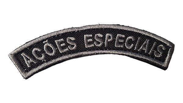 Manicaca/ Listel - Ações Especiais PM (Bordado)
