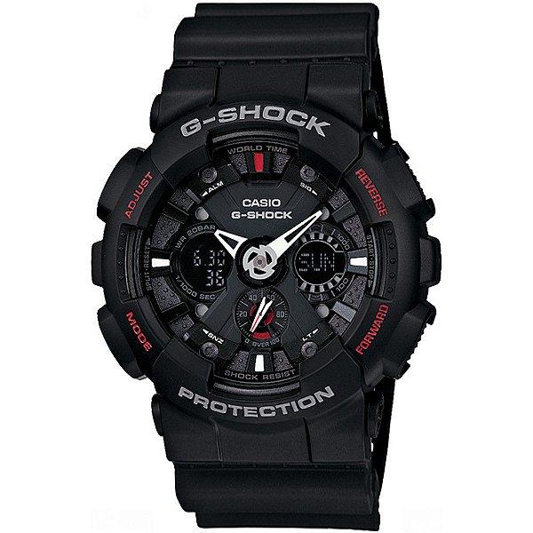 Relógio Cásio G-Shock GA-120-1ADR
