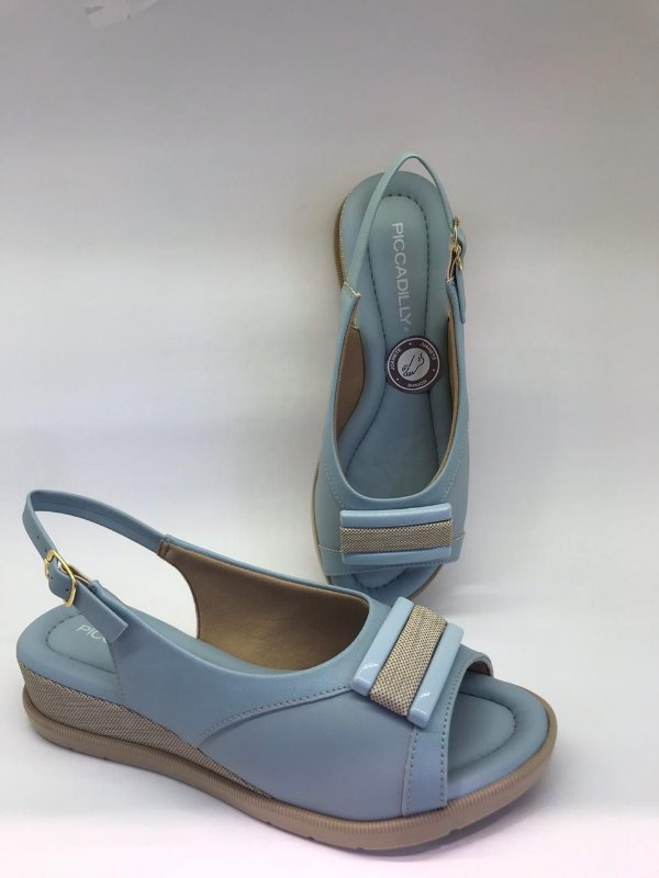 Chanel Iara Salto Anabela Médio 458022