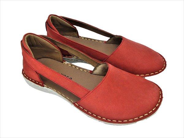Sapato de Couro Lev Comfort Casual e Confortável