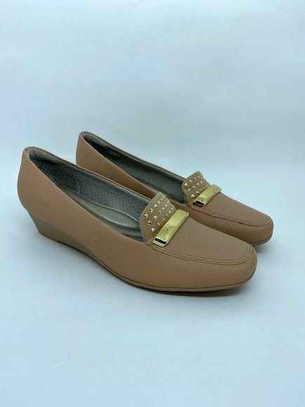 sapato Piccadilly mocassim anabela 320268