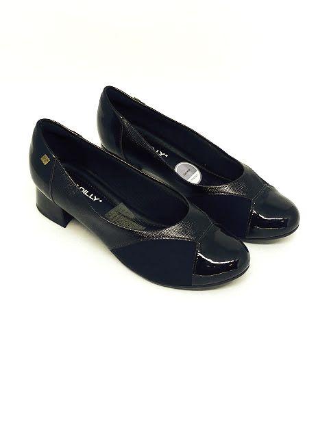 Sapato Piccadilly Salto Quadrado para Joanete 141086