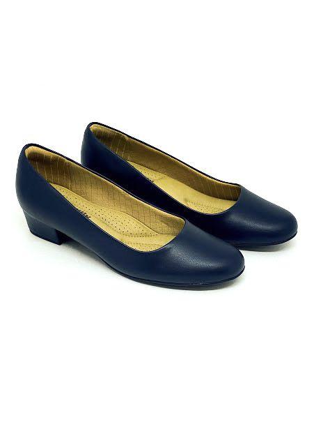Sapato Feminino Piccadilly Salto Quadrado 140071