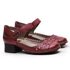 Sapato Salto Quadrado CK0117