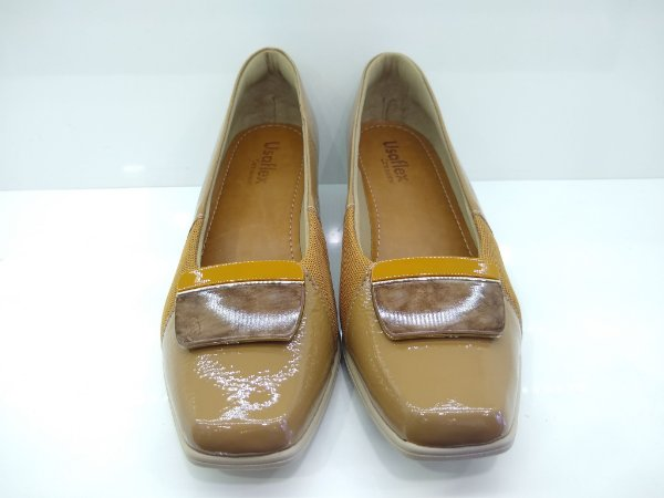 sapato Anabela Com proteção para joanetes AC3103