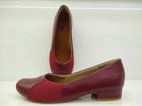 Sapato salto baixo Usaflex AC6004