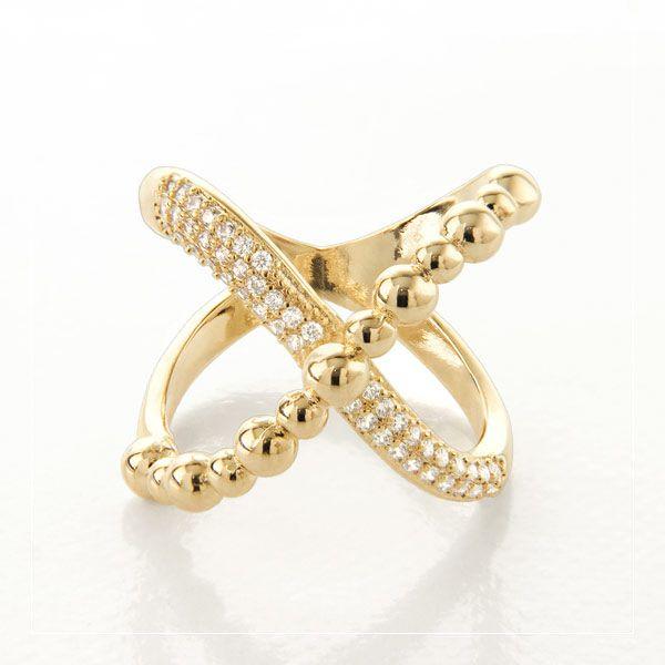 Anel amor infinito em ouro18k / 750 e diamante na lapidação brilhante
