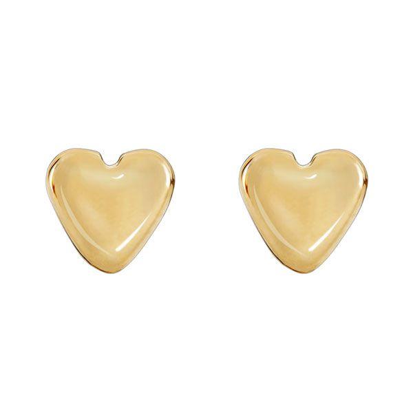 PAR DE BRINCOS da coleção DOTS OF LOVE em banho de ouro 18k