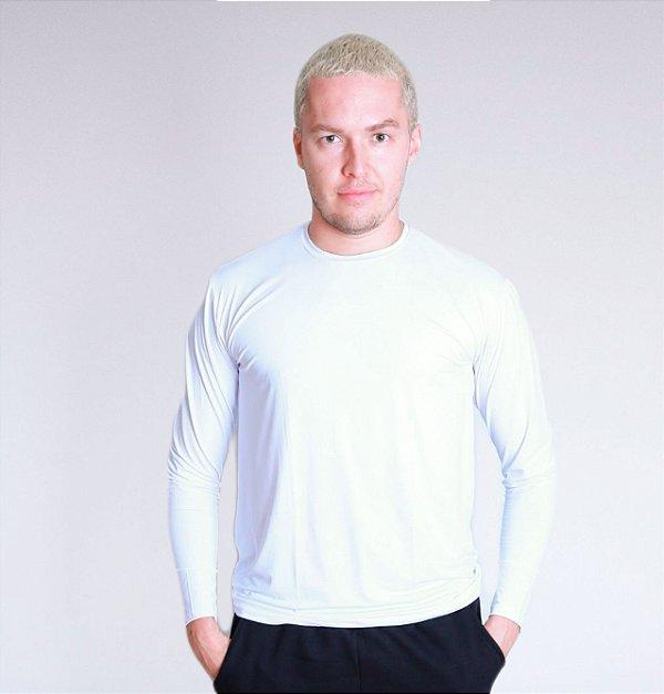 Camiseta manga longa UV Branca