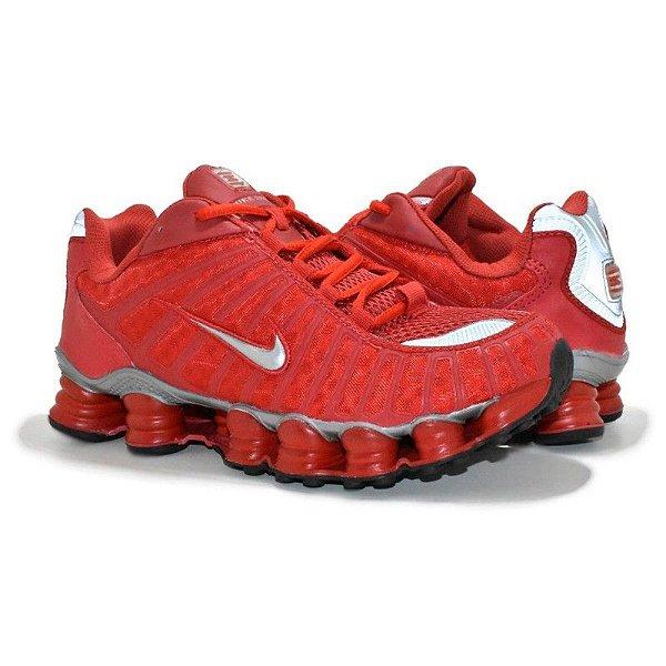 Tênis Nike Shox TL 12 Molas Vermelho