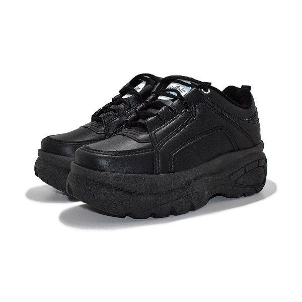 Tênis Buffalo Chunky Sneakers Preto
