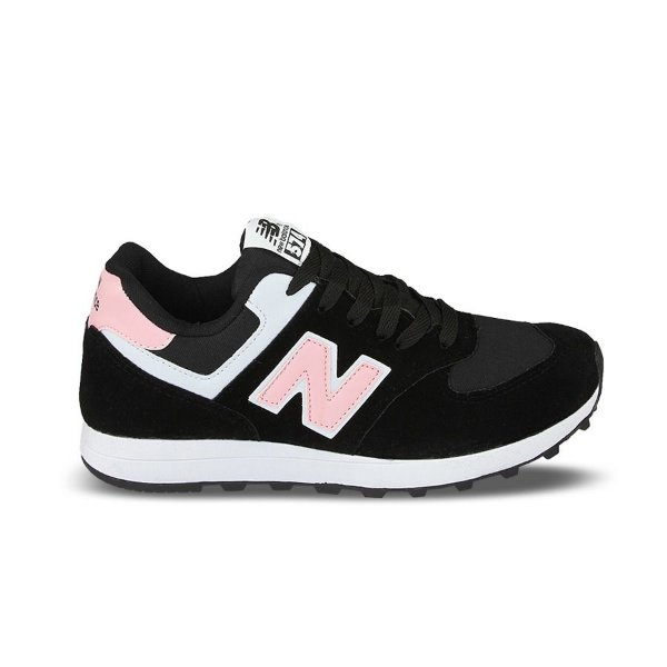 Tênis NB 574 Casual Preto/Pink