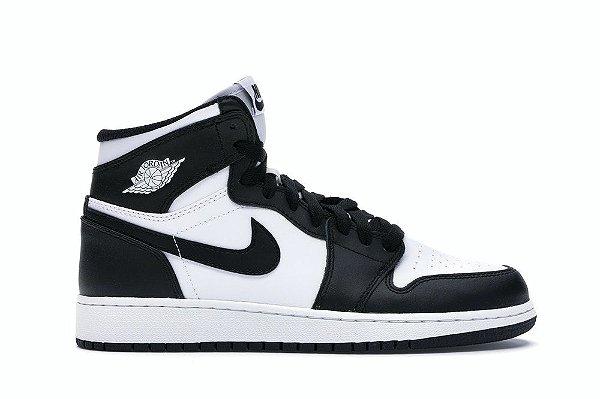 Tênis Nike Air Jordan 1 Preto/Branco