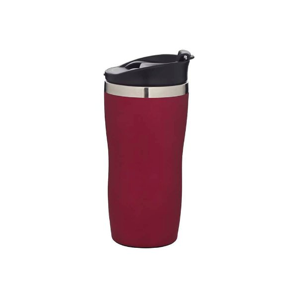 Copo de Aco Inox Coffe To Go Rosa 450ml MOR