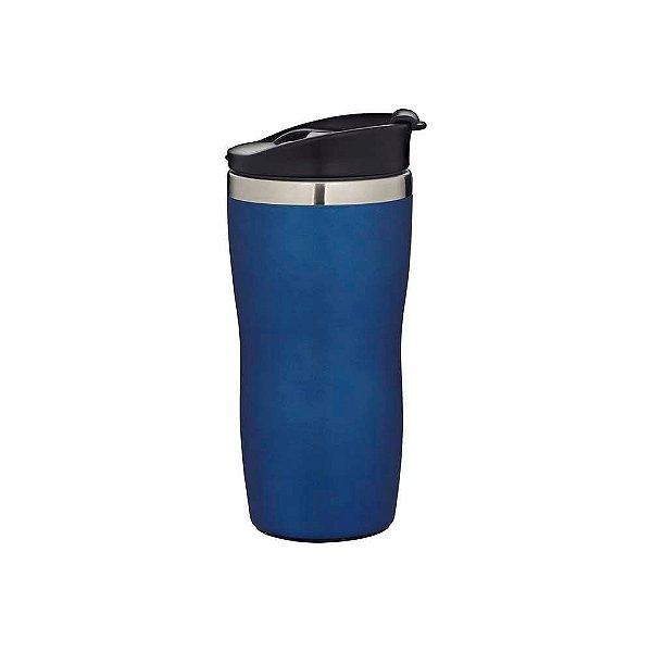 Copo de Aco Inox Coffe To Go Azul 450ml MOR