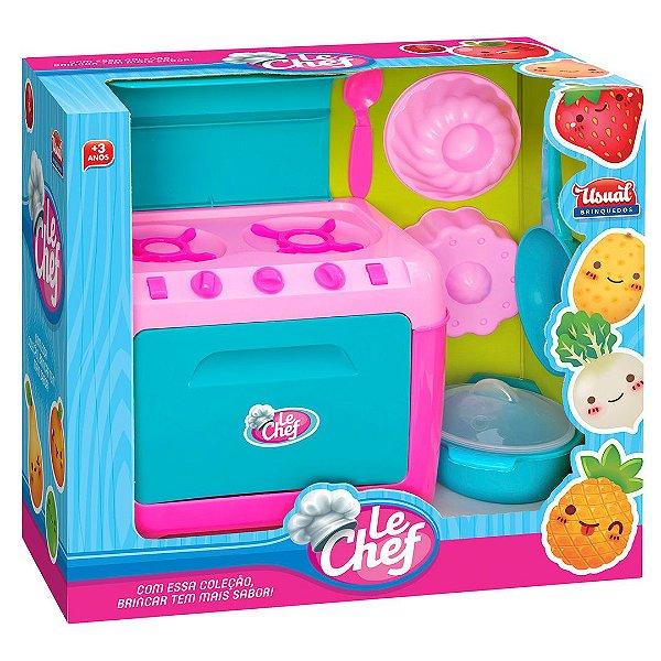 Kit Fogao de Brinquedo Le Chef