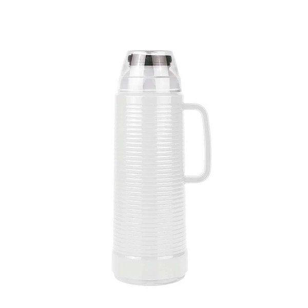 Garrafa Termica Use Daily com Flip 1,0 litro Branca MOR
