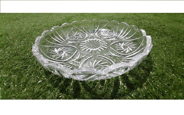 Prato de Cristal Decorativo Prima LYOR