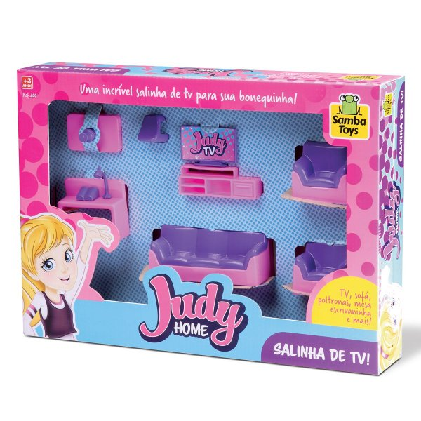 Colecao Judy Casinha de Boneca Home Sala