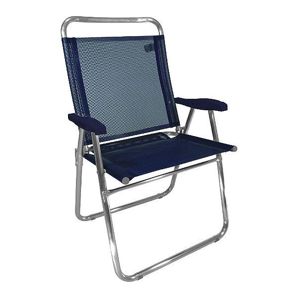 Cadeira de Praia King Marinho 140kg ZAKA