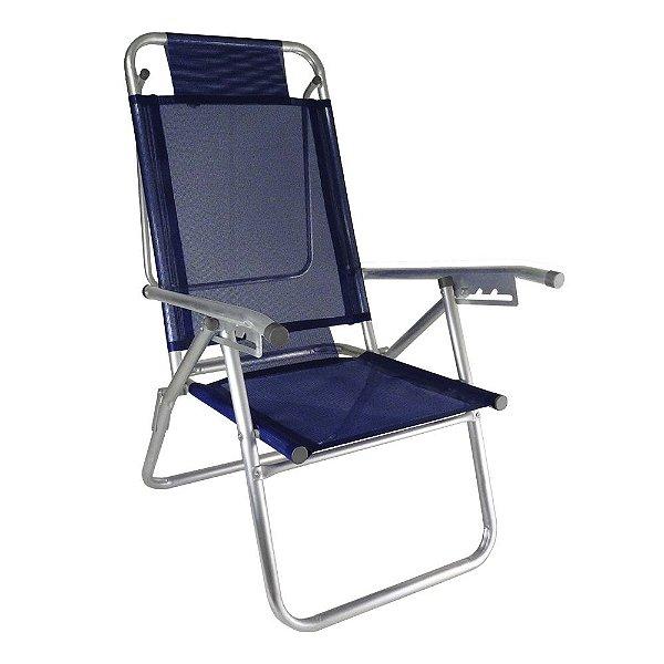 Cadeira de Praia Infinita UP Marinho 120kg ZAKA