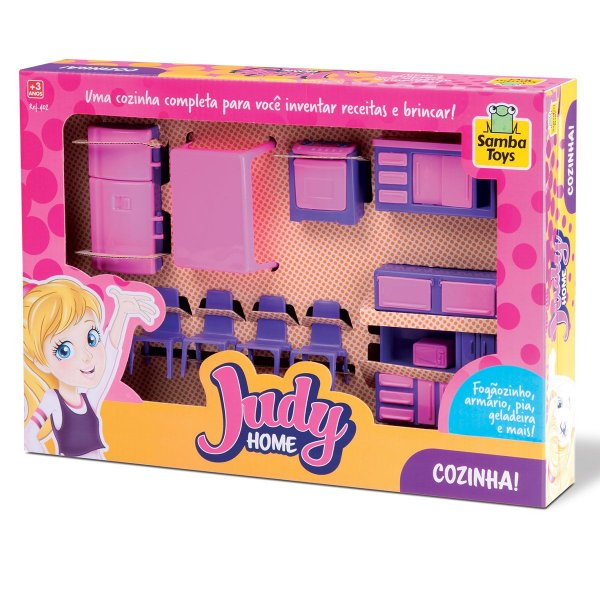 Colecao Judy Casinha de Boneca Home Cozinha