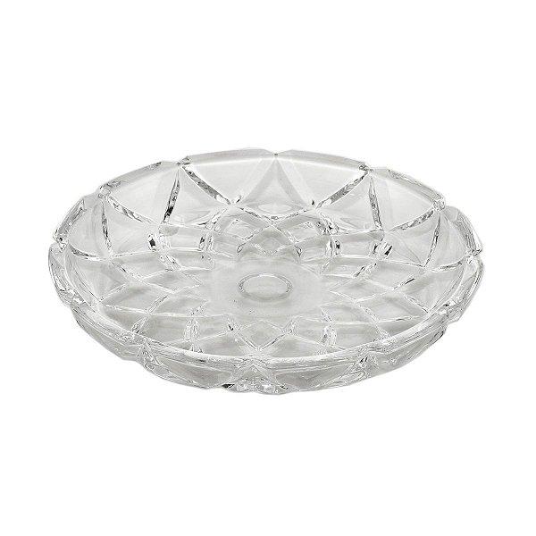 Prato de Cristal Deli Diamond LYOR