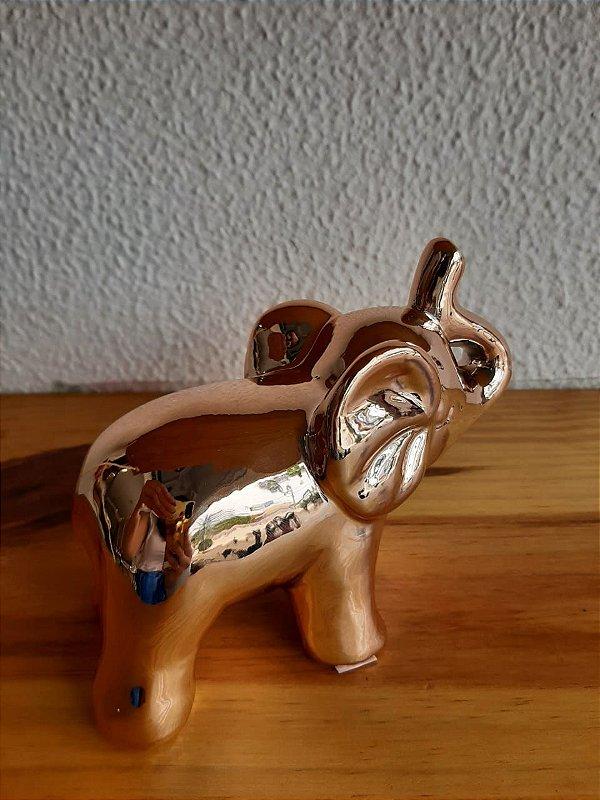 Elefante Decorativo Medio Rose 11X5X9cm
