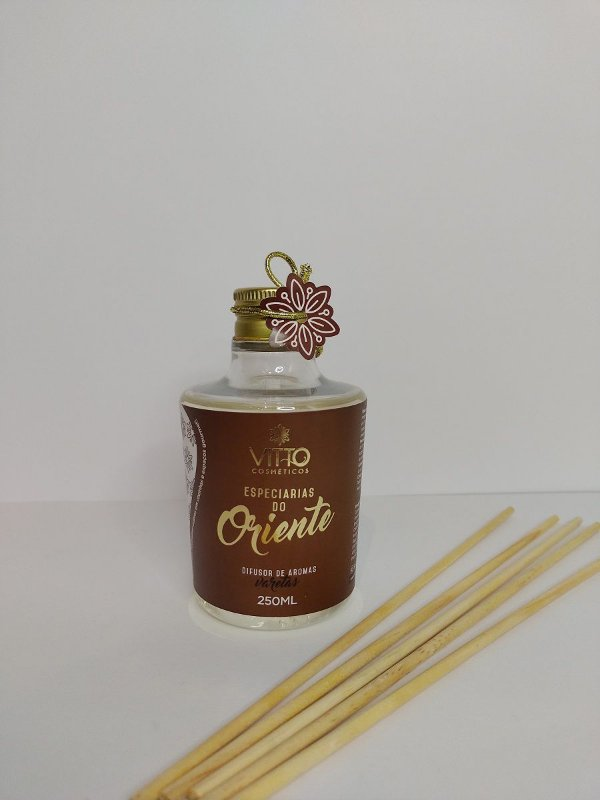 Difusor de Varetas Especiarias do Oriente 250ml