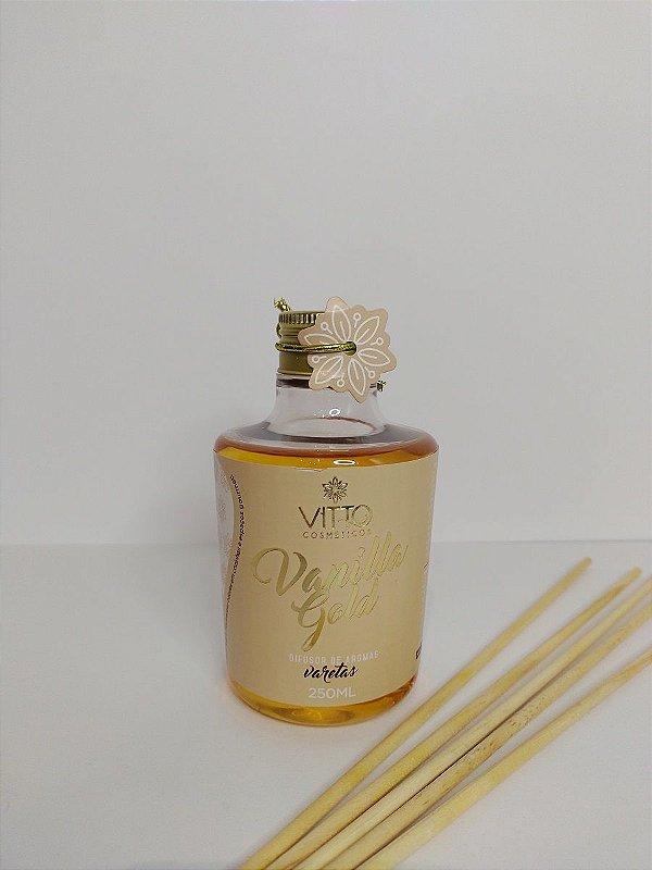 Difusor de Varetas Vanilla Gold 250ml