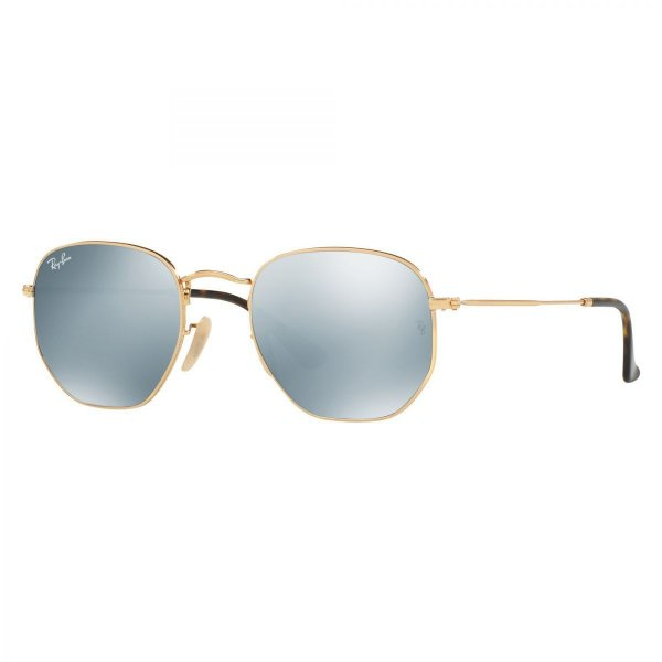 Ray Ban Hexagonal RB3548N 001/30 - Grande