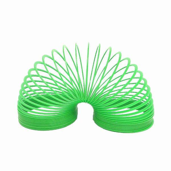 Brinquedo Mola Maluca Grande Verde Claro Unidade