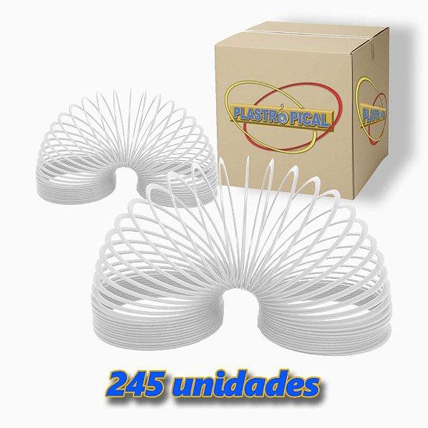 Caixa de Mola Maluca Grande Branco c/ 245 Unidades
