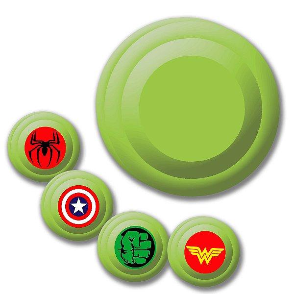 Yoyo Solapa Plastico de Alta Qualidade Verde Unidade
