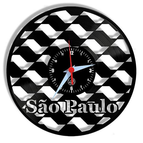 Relógio de Vinil - São Paulo Viagem Turismo