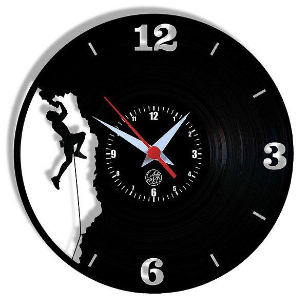 Relógio de Vinil - Montanhismo Esporte Radical