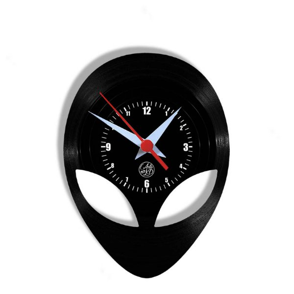 Relógio de Vinil - Alien