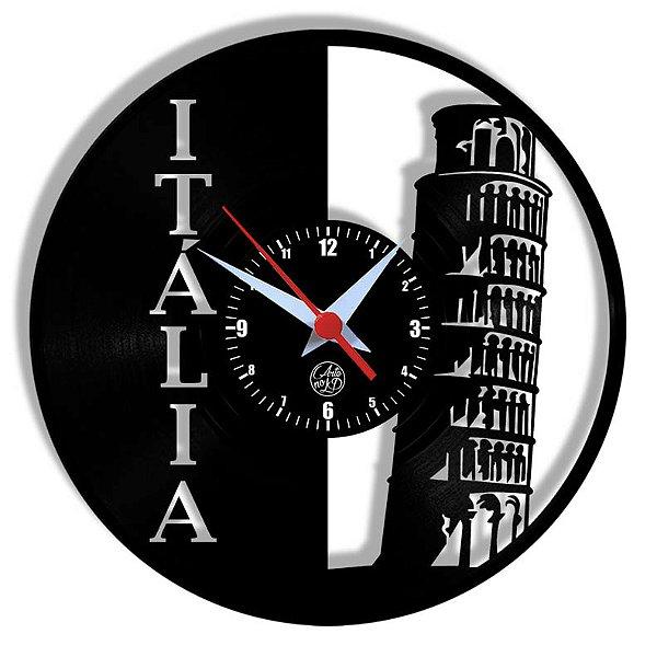Relógio de Vinil - Italia